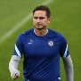 Chelsea's English coach Frank Lampard leads a training session of his team at the Krasnodar stadium in Krasnodar on October 27, 2020 on the eve of the UEFA Champions League football match between Krasnodar and Chelsea. (Photo by STRINGER / AFP) (Photo by STRINGER/AFP via Getty Images)