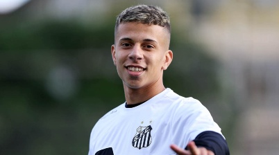 Matheus é cria das categorias de base do Santos