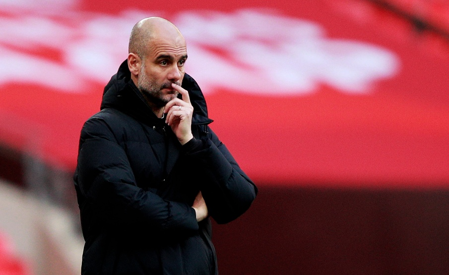 Guardiola foi decisivo em City x PSG(Getty Images)