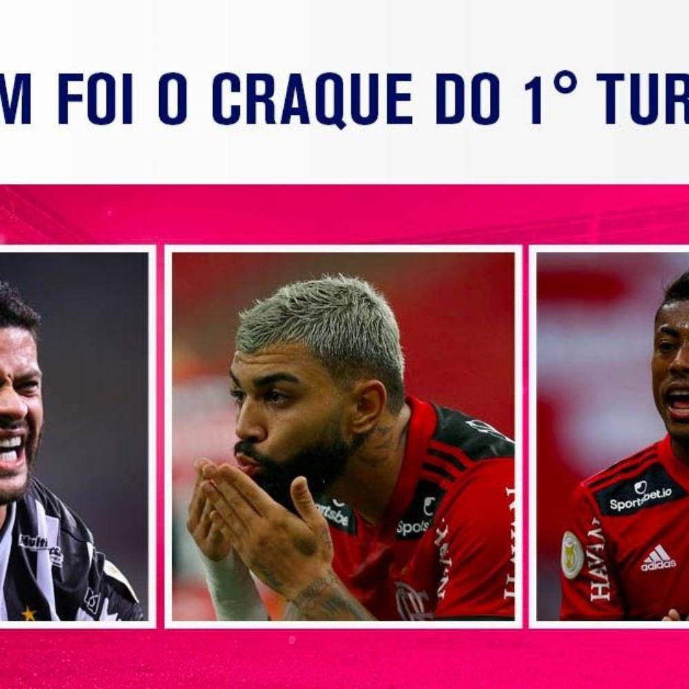 ENQUETE: quem foi o melhor jogador do 1° turno do Campeonato Brasileiro? VOTE