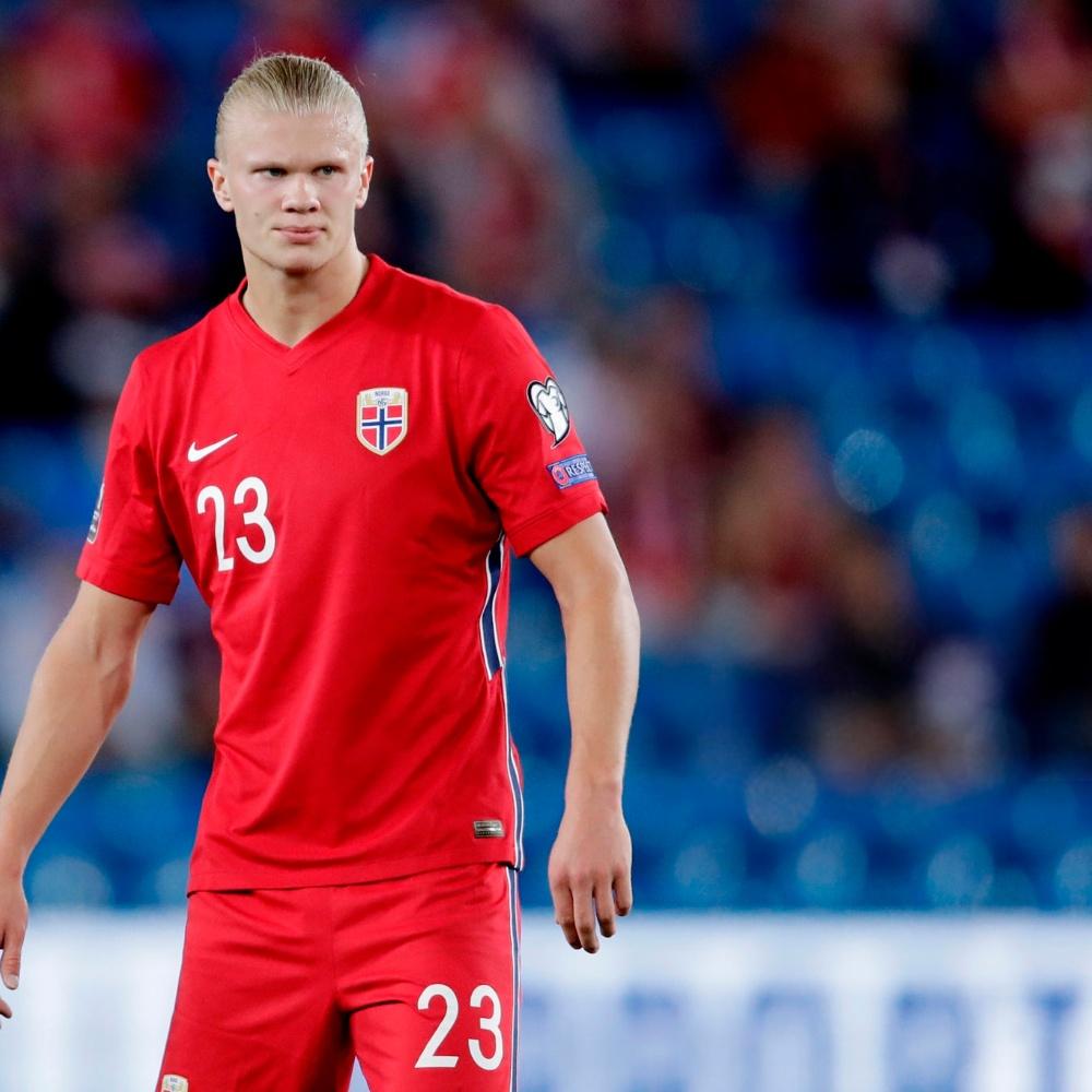 Noruega x Gibraltar: Haaland perde gol incrível e desperdiça chance de hat-trick