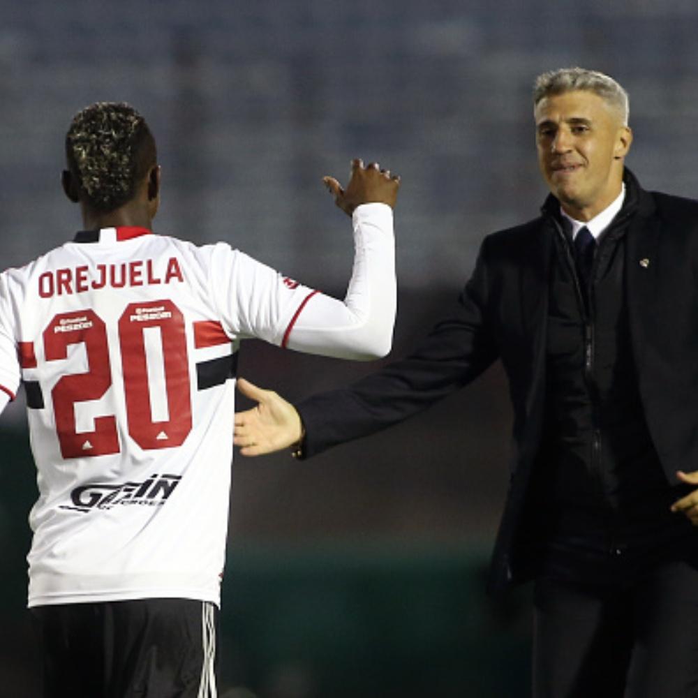 Orejuela se incomoda com falta de oportunidades no São Paulo; Jogador soma menos de 10 jogos pelo clube