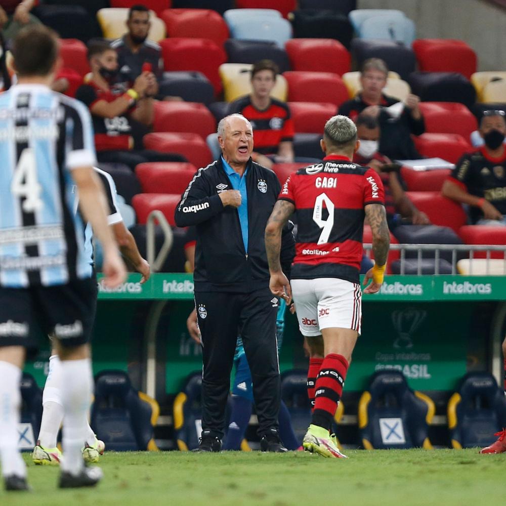 Flamengo: Gabigol discute com Felipão e se irrita por ter sido substituído; veja o vídeo