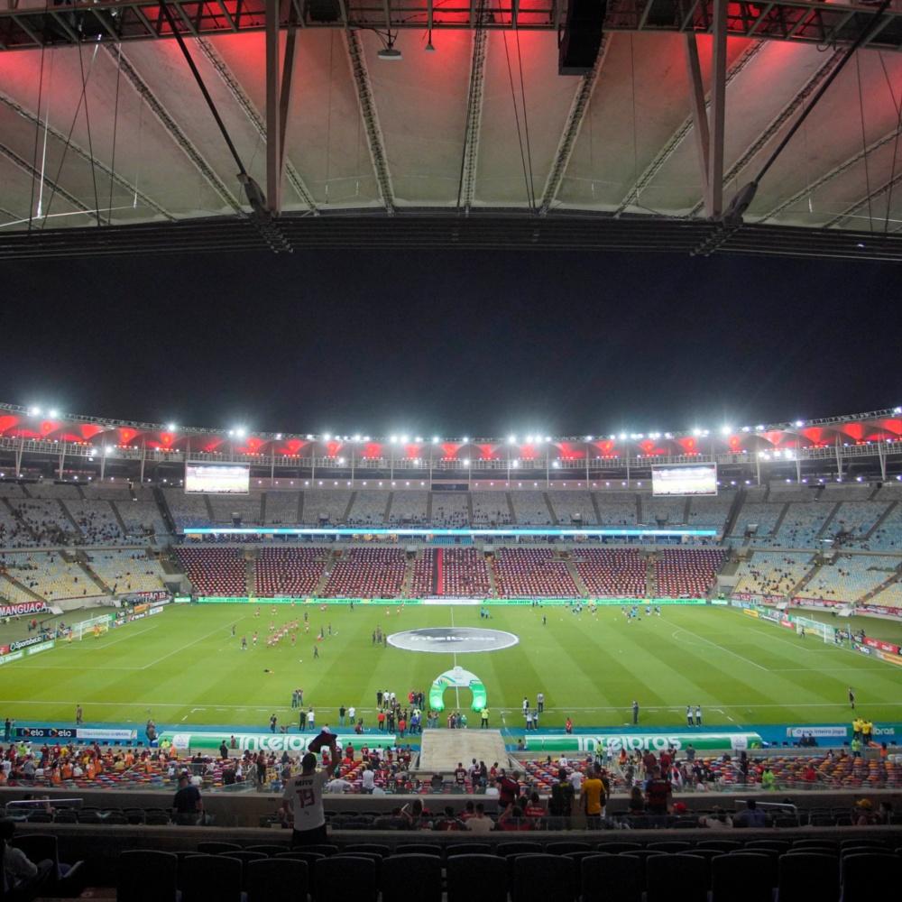 Estádios do Rio estão liberados a receber público limitado a 50% da capacidade