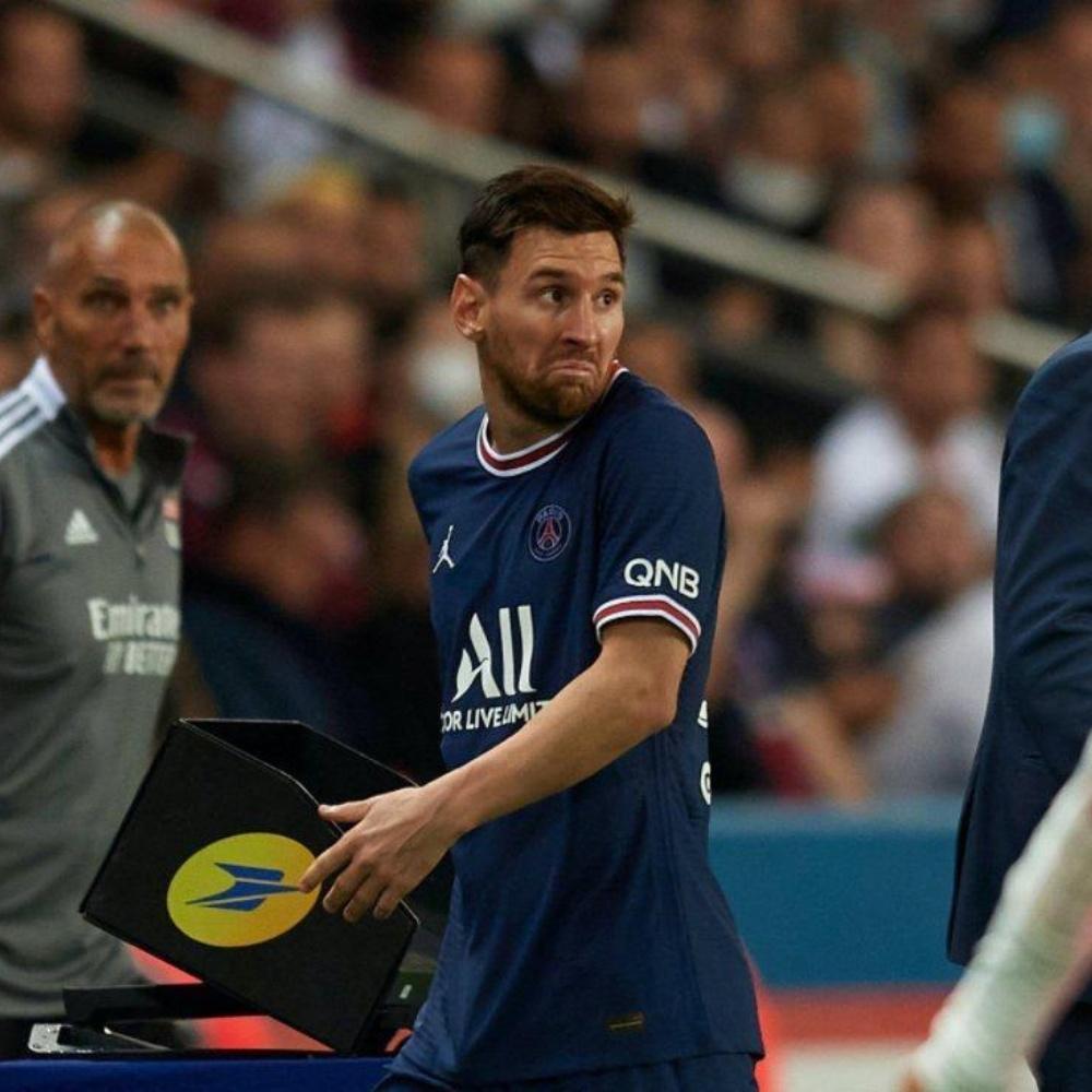 Pochettino explica substituição de Messi e fala sobre sua reação: 'Disse que tudo bem'