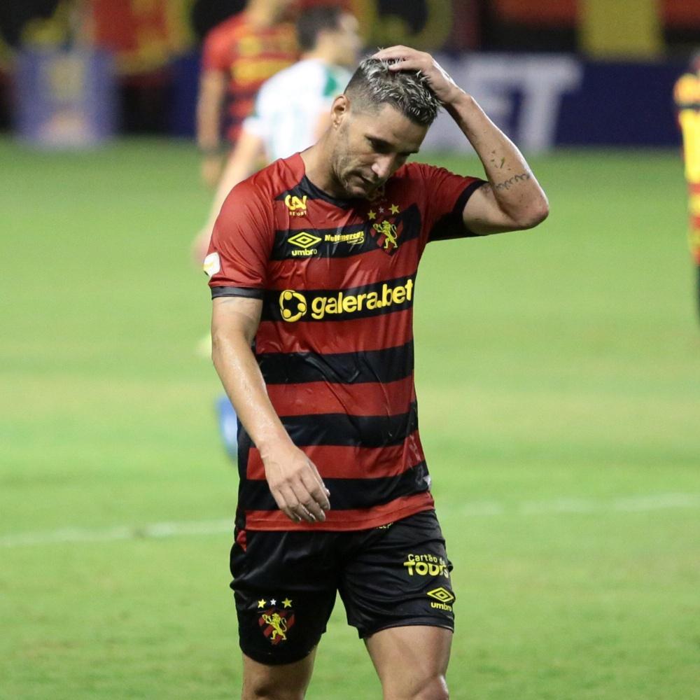 Sport anuncia rescisão de contrato com Thiago Neves