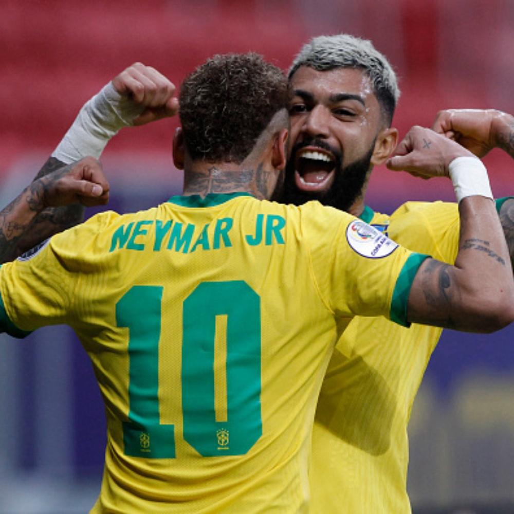 Neymar responde a convite de Gabigol para jogar no Flamengo: 'já pensou?'