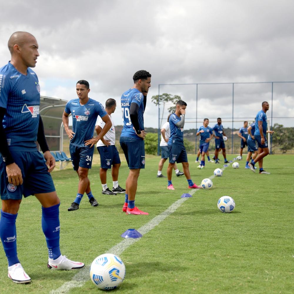 Com salários atrasados, jogadores do Bahia se recusam a concentrar e dar entrevistas