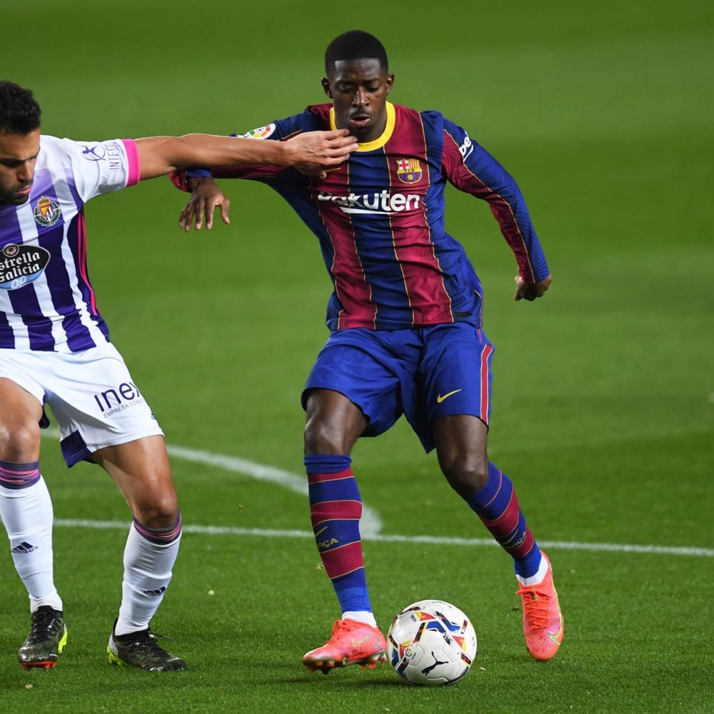 Manchester United quer Dembelé, do Barcelona, como reforço para janeiro
