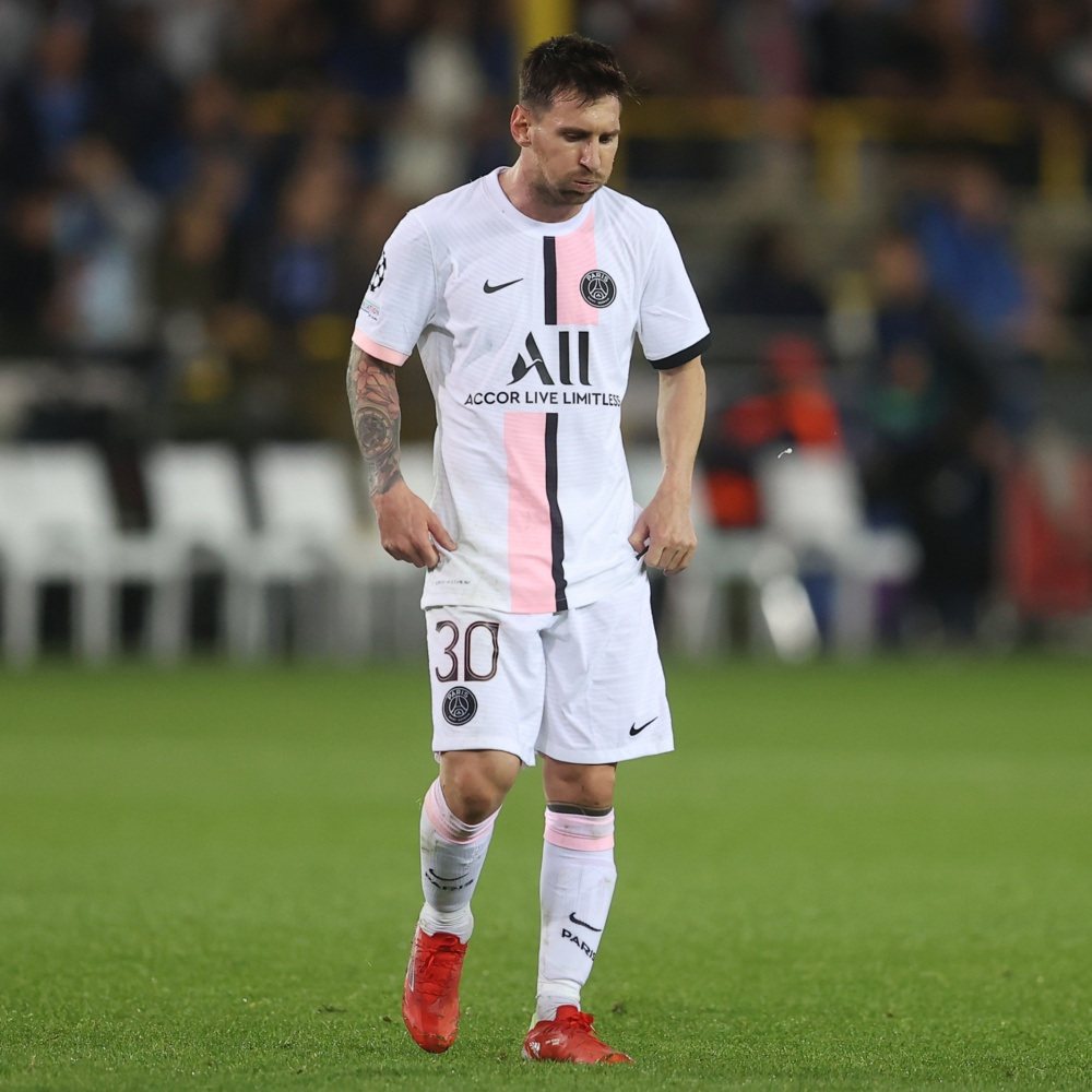 Messi volta a treinar e pode reforçar o PSG contra o Manchester City na Champions