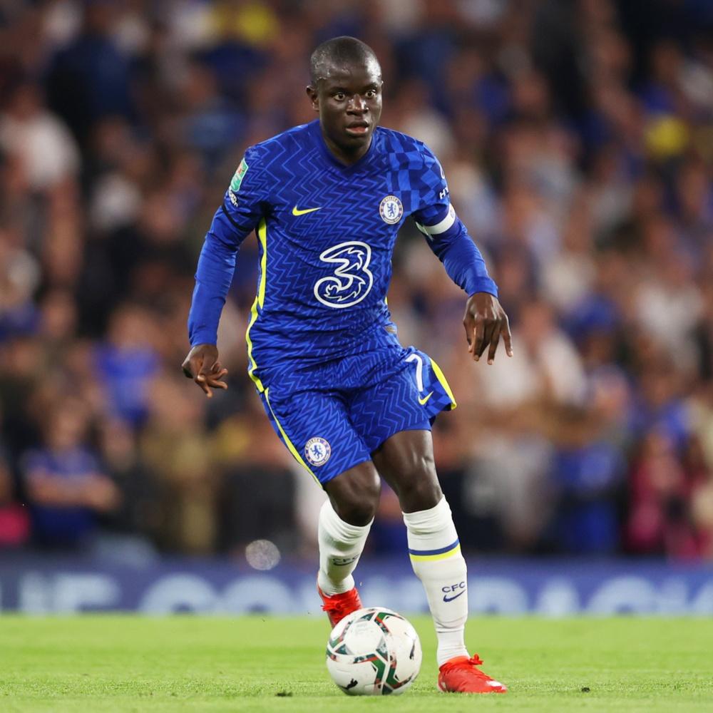 Kanté testa positivo para COVID-19 e desfalca o Chelsea contra a Juventus
