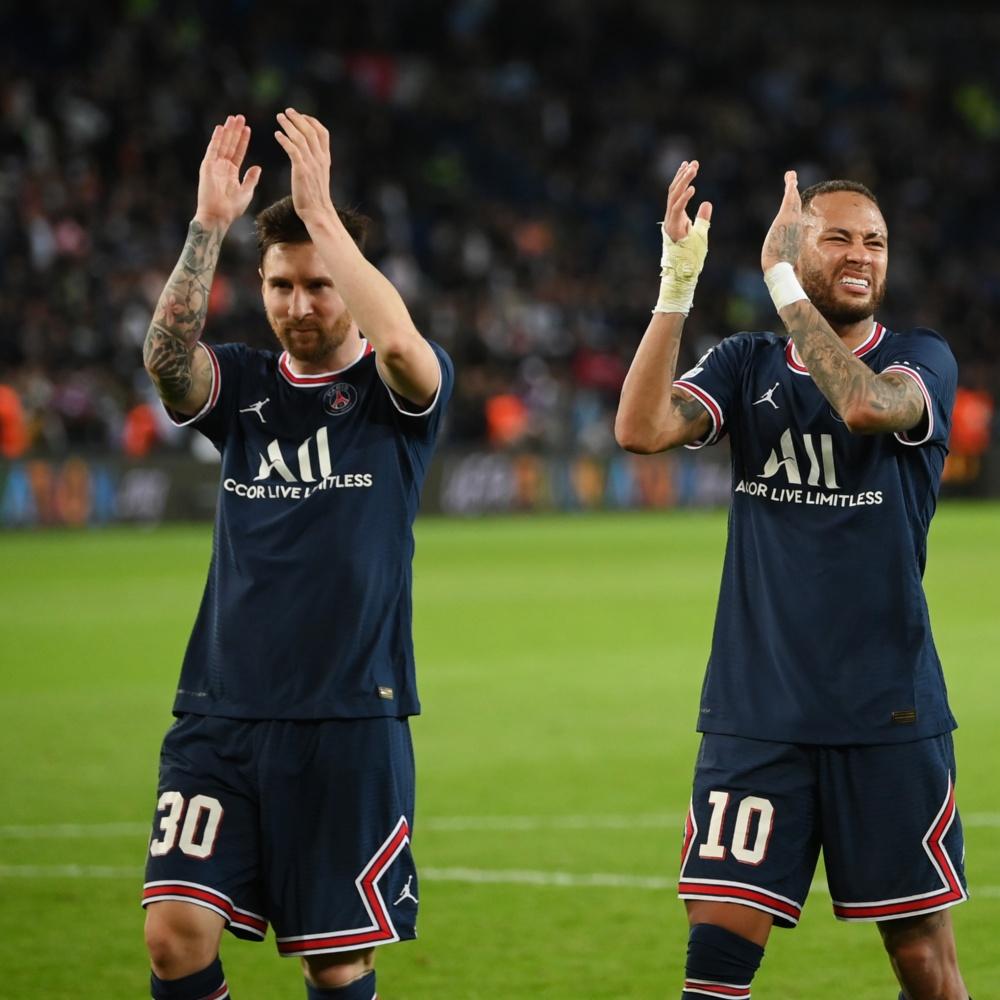 Messi celebra 1º gol pelo PSG e exalta trio com Ney e Mbappé: 'Vamos subir o nível'