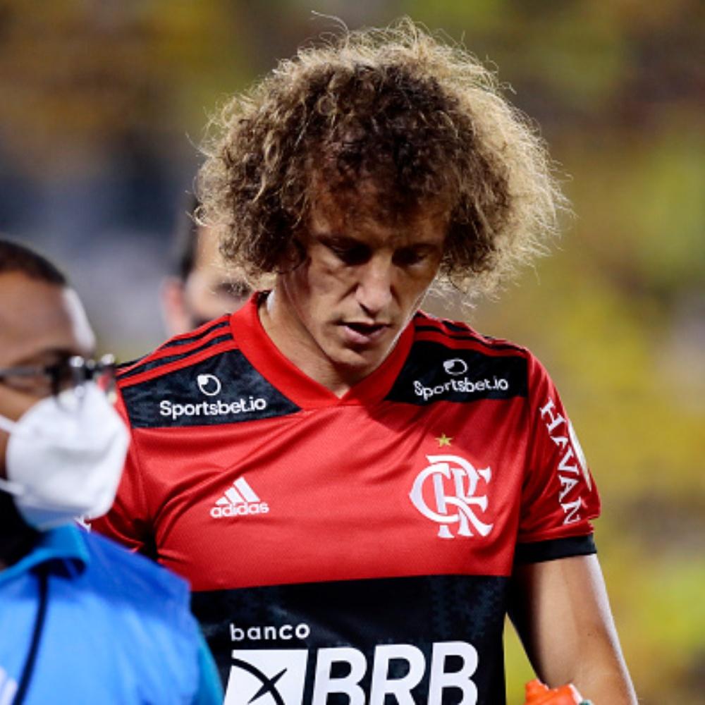 Flamengo: David Luiz tem lesão no adutor da coxa esquerda e vira desfalque contra o Athletico