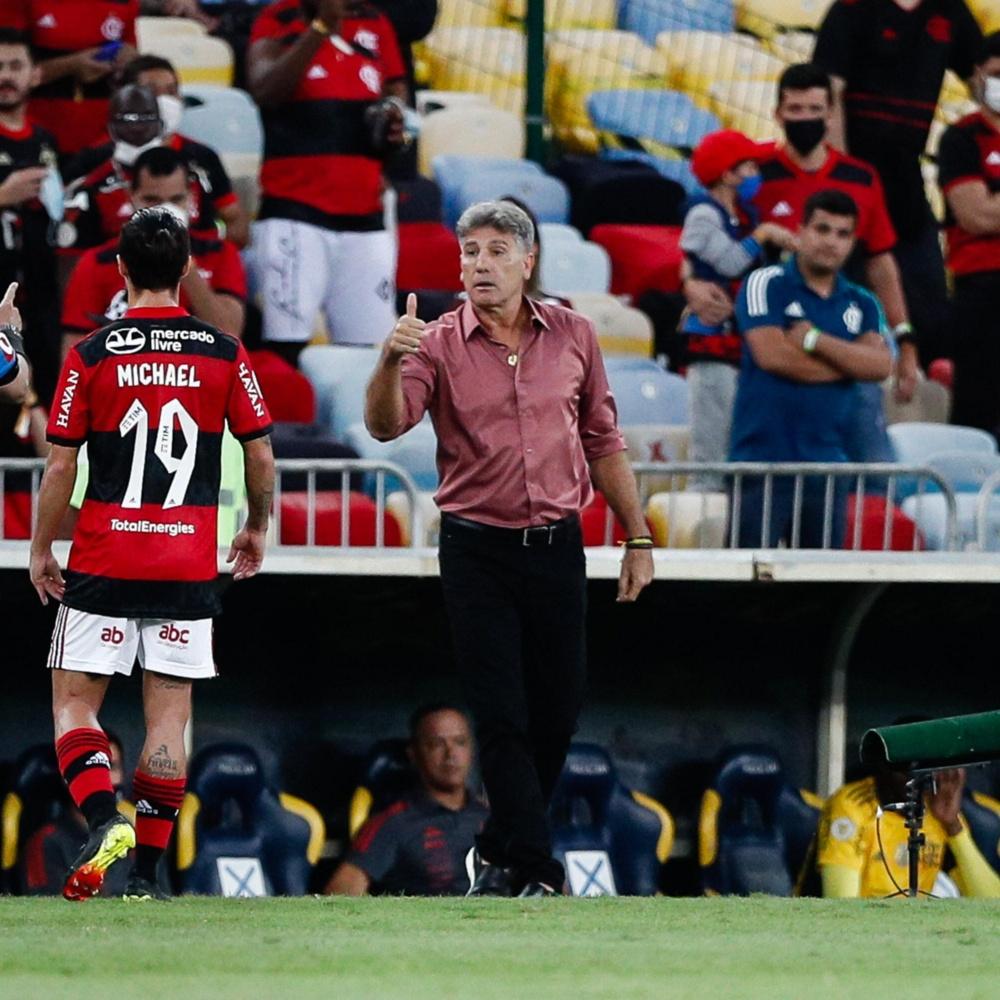 Renato critica arbitragem e revela sobre Gabigol: 'Passou mal e quase não jogou'
