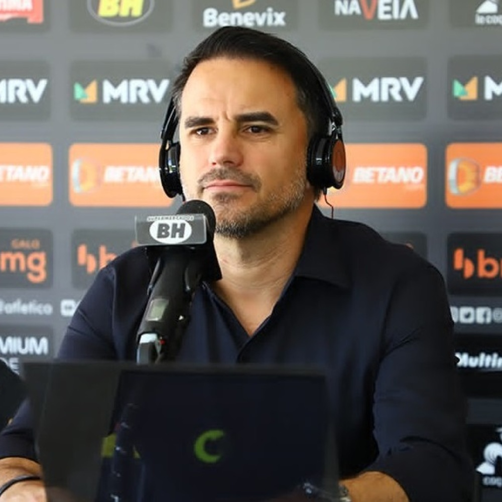 Rodrigo Caetano se pronuncia após derrota do Atlético-MG e cobra critério: 'Tem só pra alguns'