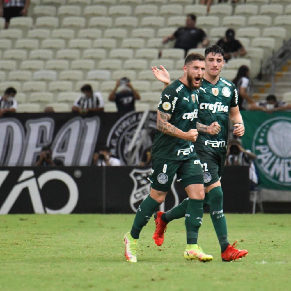 Ceará x Palmeiras: confira os melhores momentos da vitória do Verdão por 2 a 1