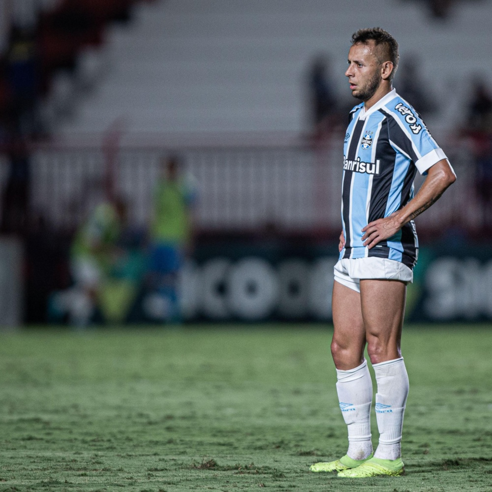 Grêmio terá desfalques de Rafinha, Borja, Luiz Fernando, Ferreira e Paulo Miranda na próxima rodada