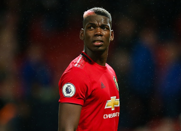 Manchester United's Paul Pogba looks dejected during the Premier League match at Old Trafford Manchester United v Arsenal - Premier League - Old Trafford 30-09-2019 . (Photo by  Barrington Coombs/EMPICS/PA Images via Getty Images)
