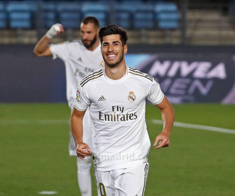 A estrela de Marco Asensio voltou a brilhar no Real Madrid ...